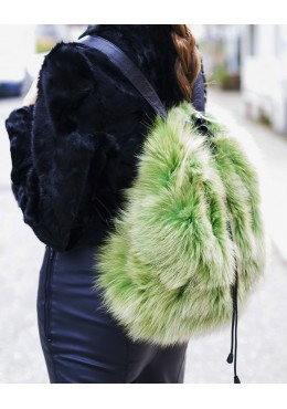 Fox fur BACKPACK