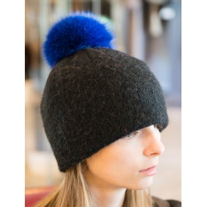 Removable Fur pompon