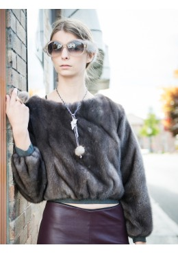 Mink fur SWEATER