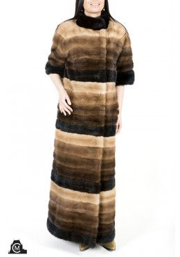 Mink fur COAT of 5 colors